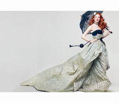"Karen Elson ""AMERICA THE BEAUTIFUL"",  Vogue June 2011.   Photo Craig McDean"