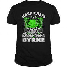 Cool  BYRNE Patricks day T-Shirt T-Shirts