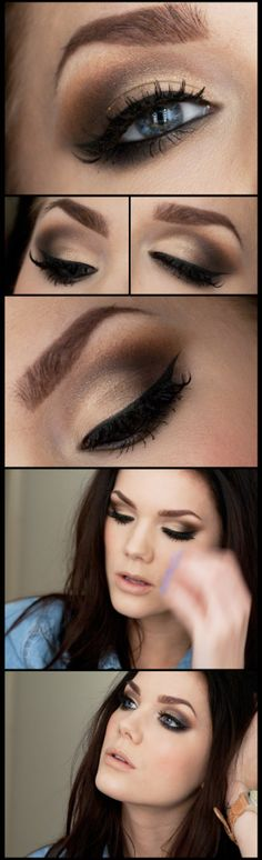 .beautiful smokey eye
