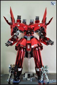 GUNDAM GUY: HGUC 1/144 NZ-999 Neo Zeong [Extra Finish Ver.] by Strike Gundam Holic