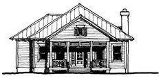 Glenn Layton Homes - South Beach Cottage 2100 sq. ft.