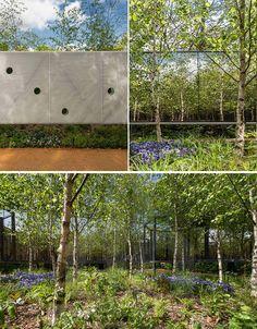 Infinite Garden Multiplies Miniature Forest with Mirrors