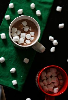 Lactose intolerant? Vegan? You can still enjoy a comforting mug of Hot Chocolate, made dairy free with almond (or any other non-dairy) milk! Top with your favorite vegan marshmallow, and curl up with a favorite book on a chilly day!