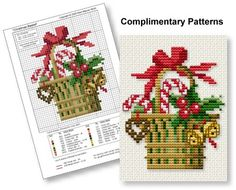 Free Counted Cross Stitch Patterns and Graphs and Where to Find Them