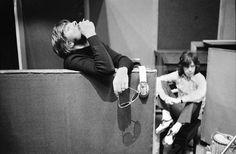 Glyn Johns & Mick Jagger