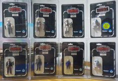 Complete set of Sears shrinkwrapped ESB MOCs