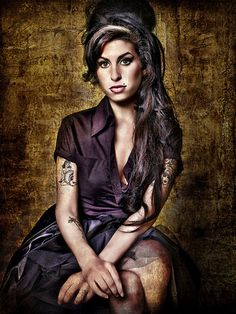 Amy wallpaper possibly with pantyhose, a suit, and a thigh boot in The Amy Winehouse Club
