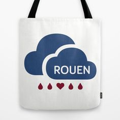 Rainy Rouen (2) Tote Bag by @jbrkmr - $22.00