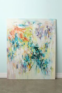 pretty abstract art, via anthropologie.