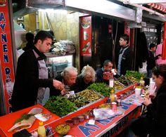 Aynen Dürüm, which serves top-notch, tender lamb kebabs, is a favorite of Grand Bazaar locals.