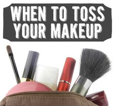 Excellent guide for when to replace makeup! Avon has the makeup you want! Visit my website at www.LipstickShoesAndMore.com to get yours!