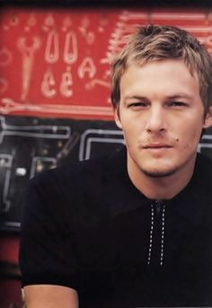A young Norman Reedus: OMG!!!! Kill me now!