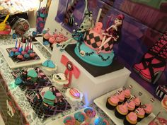 """Photo 14 of 23: Monster High / Birthday """"Cumple Temático Monster High"""" 