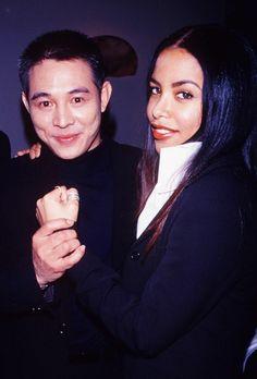 aaliyah and jet li relationship