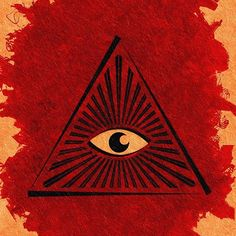 Painting - The All-seeing Eye by Esoterica Art Agency , Canvas Prints, Framed Prints, Art Prints, Masonic Art, Occult Symbols, All Seeing Eye, Eye Painting, Art Boards, Wall Tapestry