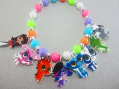Littlest Pet Shop Charm Bracelet Littlest Pet by ChildishAntics