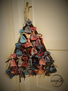Vatanai wrap scrap Christmas advent calendar made by KodoBa #Vatanai #KodoBa #adventcalendar #wrapscrap