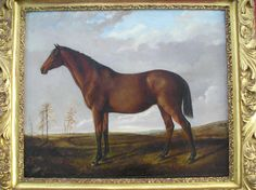 Classic 19th century horse painting