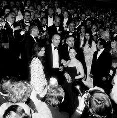 """L'équipe du film: """"Les Choses de la Vie """"  Festival de Cannes 23e 1970"""