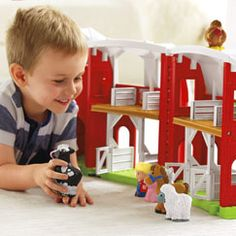 Shop for Little People® Animal Friends Farm and buy something new for your little one to explore. Find the perfect Little People toddler toys right here at Fisher-Price.