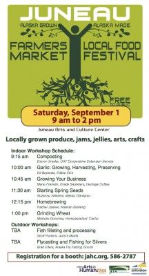 2012 Farmers Market flyer