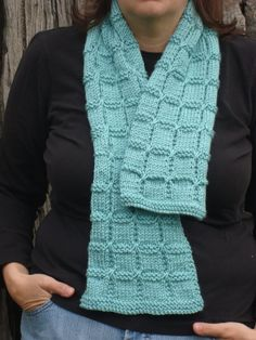 dusty soft  teal hand knit scarf by SewCuteQuiltAndKnit on Etsy (Accessories, Scarf, Knit, teal scarf, soft teal scarf, dusty teal scarf, women's scarf, ladies' scarf, soft teal fall, box stitch knit, hand knit scarf, hand knitted scarf, sewcutequilts, knit scarf, washable scarf)