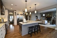 sherwin williams mink kitchen | contemporary kitchen by Gonyea Homes & Remodeling