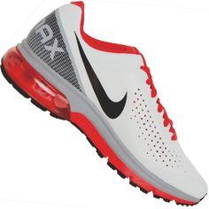 Men's Tênis Nike Air Max Supreme 2 Masculino Branco / Vermelho