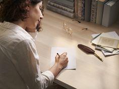 Há quanto tempo não escrevem uma carta a alguém? Hoje é o dia. Ikea Portugal, Ikea Home, White Table Top, Weather