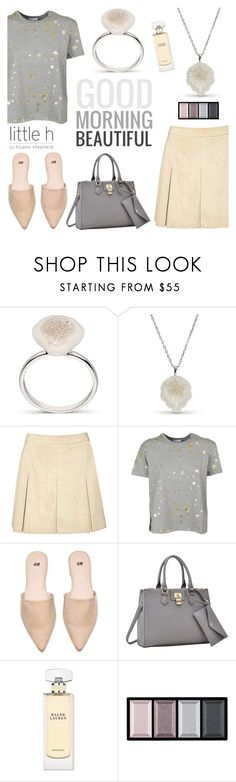 """""""Good morning beautiful by Little h Jewelry"""" by littlehjewelry ❤ liked on Polyvore featuring Alice + Olivia, RED Valentino, Dasein, Ralph Lauren and Clé de Peau Beauté"""