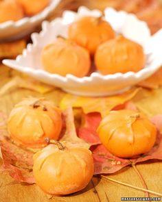 Chocolate Fig Pumpkins Recipe