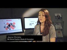 Jayne Christie, BA (Hons) Fashion Media & Promotion, UCA Rochester - YouTube