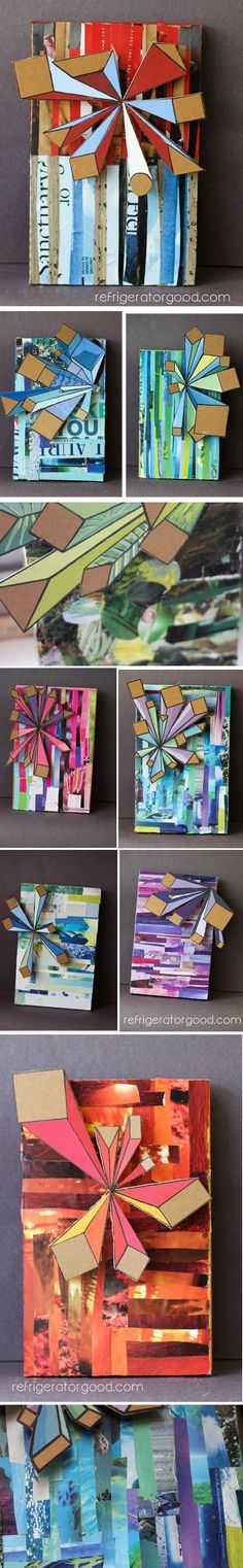 1 pt Perspective: Mixed Media Collage... AND an awesome website with GREAT IDEAS!!