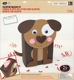 Dog Valentine Box - ashers kinder choice :-)