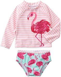 Gymboree Flamingo Rashguard Set (Baby) - Free Shipping