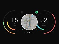 Daily UI: #034 Car Interface by Andy Weir