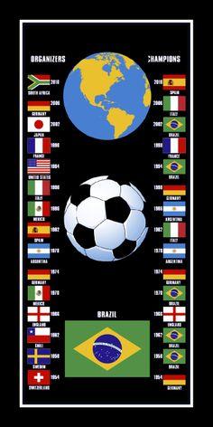 www.brasilcopamundotowel.com The best world cup towel. Soccer a beautiful game. Aliens also play soccer