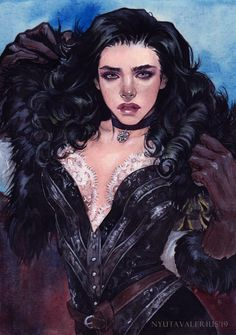 Yennefer by NyutaValerius on DeviantArt The Witcher Game, The Witcher Geralt, Witcher Art, Kissing Couples Passionate, The Last Wish, Yennefer Of Vengerberg, Video Game Art, New Friends, Female Characters