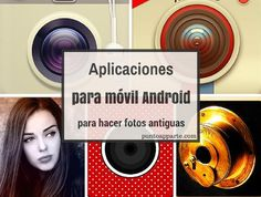 Aplicaciones para móvil Android para hacer fotos antiguas Android Apps, Movies, Movie Posters, Antique Photos, Films, Film Poster, Cinema, Movie, Film
