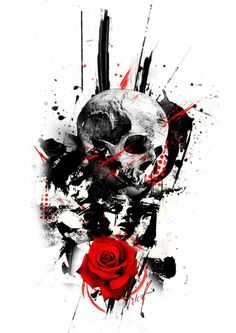 Find the perfect tattoo artist to create the work of art that is you Tattoos Motive, Bild Tattoos, Skull Tattoos, Body Art Tattoos, Sleeve Tattoos, Tattos, Tattoo Sketches, Tattoo Drawings, Tattoo Art