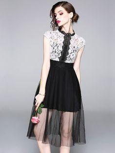 Princess Daily Costume 1PC Audrey Hepburn Style Classic Black Dress Sling Skirt