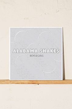 Alabama Shakes - Boys & Girls LP (Vinyl) // Urban Outfitters, $19.98.