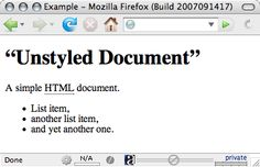 User Agent Style Sheets: Basics and Samples