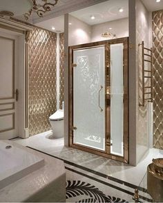 28 sophisticated bathroom decorating ideas to beautify yours 11 - Interieur - Bathroom Decor Home Interior Design, Bathroom Design Luxury, Master Bathroom Design, Luxury Homes, Bathroom Interior Design, Home, Interior, Beautiful Bathrooms, Sophisticated Bathroom