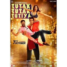 Here's the brand new poster of #TutakTutakTutiya ft. #Prabhudeva #SonuSood #Tamannah. Releasing on 7th Oct 2016.  #TamannahBhatia #firstlook #poster #movieposter #firstlook #movie #film #celebrity #bollywood #bollywoodactress #bollywoodactor #bollywoodmovie #actor #actress #filmywave