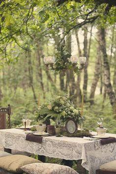 Vintage garden wedding.