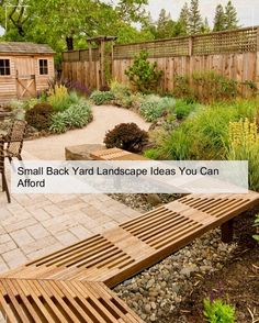 Small backyard landscaping ideas - small landscape tips