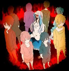 """Kagerou Project """"One by one they abandoned her. Kagerou Project, Manga Anime, Anime Art, 07 Ghost, Pandora Hearts, Happy Summer, Actors, Manga Games, Spirit Animal"""