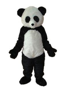 discount Long Wool giant Panda Mascot Adult Costume