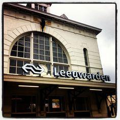 Station Leeuwarden in Leeuwarden, Fryslân